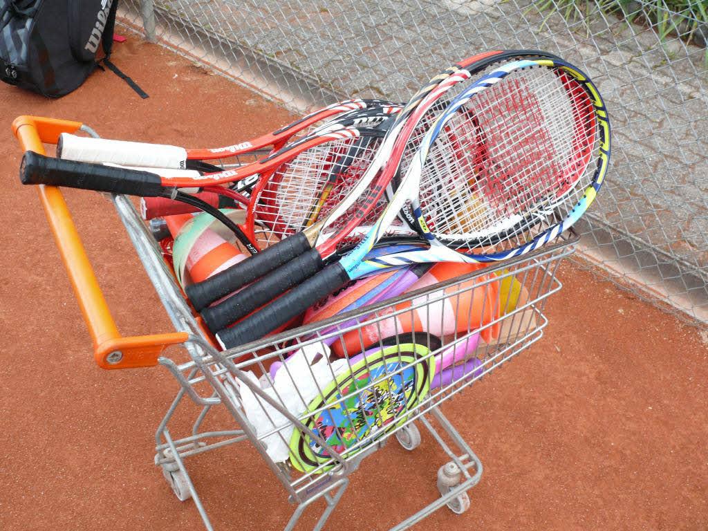 Roni's Tennis School - TCW Ballkorb
